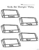 Candy Bar Descriptive Writing Graphic Organizer