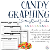 Candy Graphing: Bar Graphs {Valentine's Day & Halloween Ma