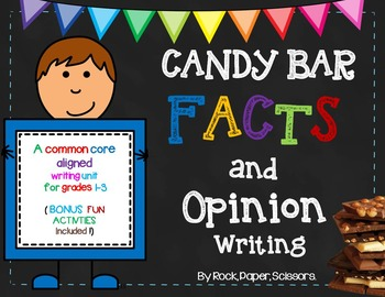 Candy Bar Opinion Writing
