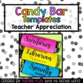 Candy Bar Templates for Teacher Appreciation