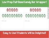 Candy Bar Wrapper- Winter Break - Merry Christmas
