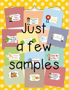 Candy Bar Wrappers {All Through the Year}
