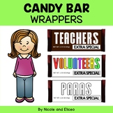 Teacher Appreciation Gift Idea Candy Bar Wrappers