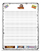 Candy Bar Writing Activity Freebie