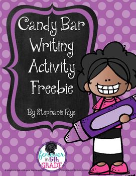 Candy Bar Writing Activity Freebie