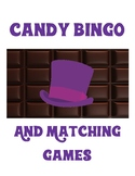 Candy Bingo and Matching Games