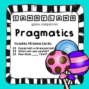 Candy Board Game Pragmatics