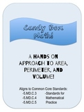 Candy Box Math- A Hands on Approach to Perimeter, Area, an
