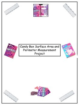 Candy Box Measurement Area and Perimeter Project