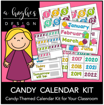 Candy Calendar Kit {A Hughes Design}