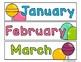 Candy Calendar Kit