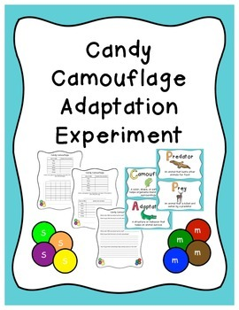 Candy Camouflage Adaptation Experiment