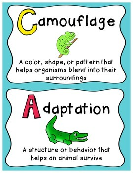 adaptation experiments A common way that animals can avoid being eaten by a predator is by using an adaptation called camouflage,.