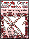Candy Cane Activities: Candy Cane Facts Christmas Activity