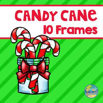 Candy Cane 10 Frames