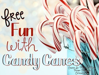 Candy Cane Activities Mini Unit (Free)