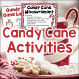 Candy Cane Activities 1st Grade 2nd Grade Math Science Holiday Christmas Centers