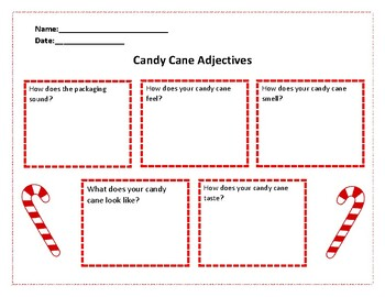 Candy Cane Adjectives