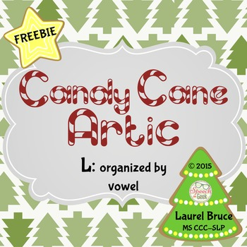 Candy Cane Artic Freebie: L Words by Vowel