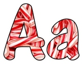Candy Cane BB Letters