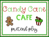 Candy Cane Cafe: Christmas Dramatic Play Set