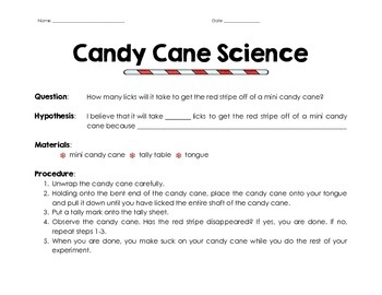 Candy Cane - Candy or Scientific Tool?
