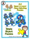 Candy Cane - Christmas - Alphabet / Letter Puzzles - Simpl