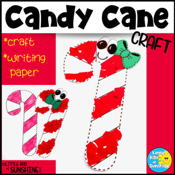 Candy Cane Christmas Craft