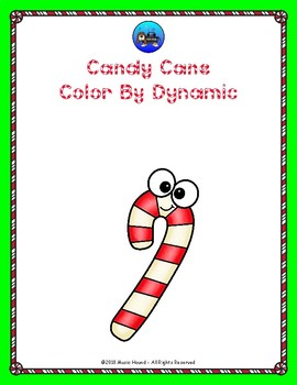Candy Cane Color By Dynamic