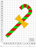 Candy Cane (Color Grid), Coordinate Drawing & Graphing, Mystery Picture