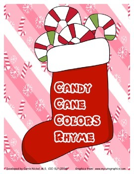 Candy Cane Colors Rhyme
