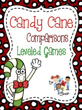 Candy Cane Comparisons - Leveled Games