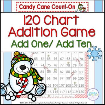 120 Chart Addition Christmas