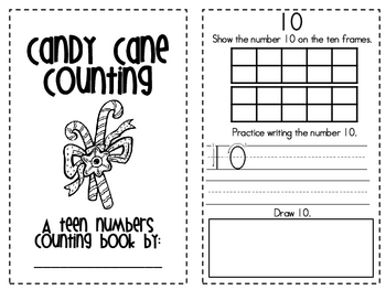 Candy Cane Counting: 10-20
