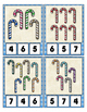 Candy Cane Counting Clip Cards Math Center ~ They Sparkle
