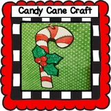 Candy Cane Craft, Christmas Craft, December Craft