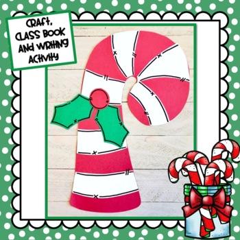 Candy Cane Craft: Christmas Craft, December crafts