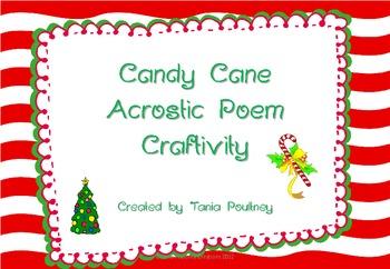 Candy Cane Craftivity