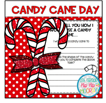 Candy Cane Day!  Craft and Activities