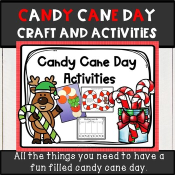 Candy Cane Day craft and activities
