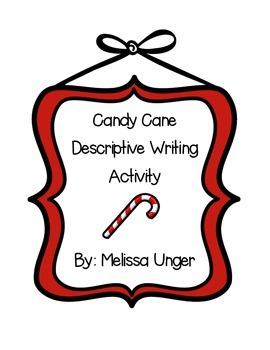 Candy Cane Descriptive Writing