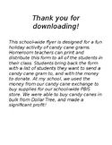 Candy Cane Exchange School Wide Flyer