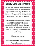 Candy Cane Experiment Book!