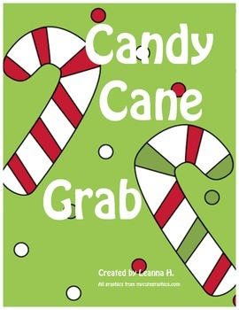 Candy Cane Grab Reinforcer Game