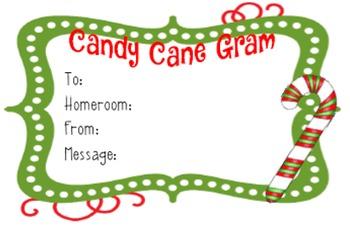Candy Grams Christmas Teaching Resources Teachers Pay Teachers