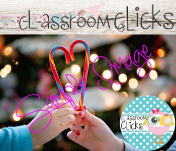 Candy Cane Heart Image_324:Hi Res Images for Bloggers & Teacherpreneurs