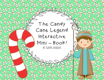 Candy Cane Legend Interactive Mini-Book