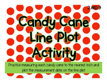 Candy Cane Line Plot Activity MD.9