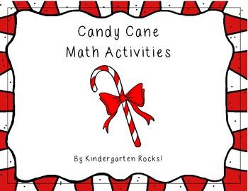 Candy Cane Math Activities