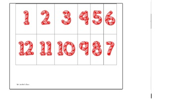 Candy Cane Math Add Subtract Multiply Interactive Numbers